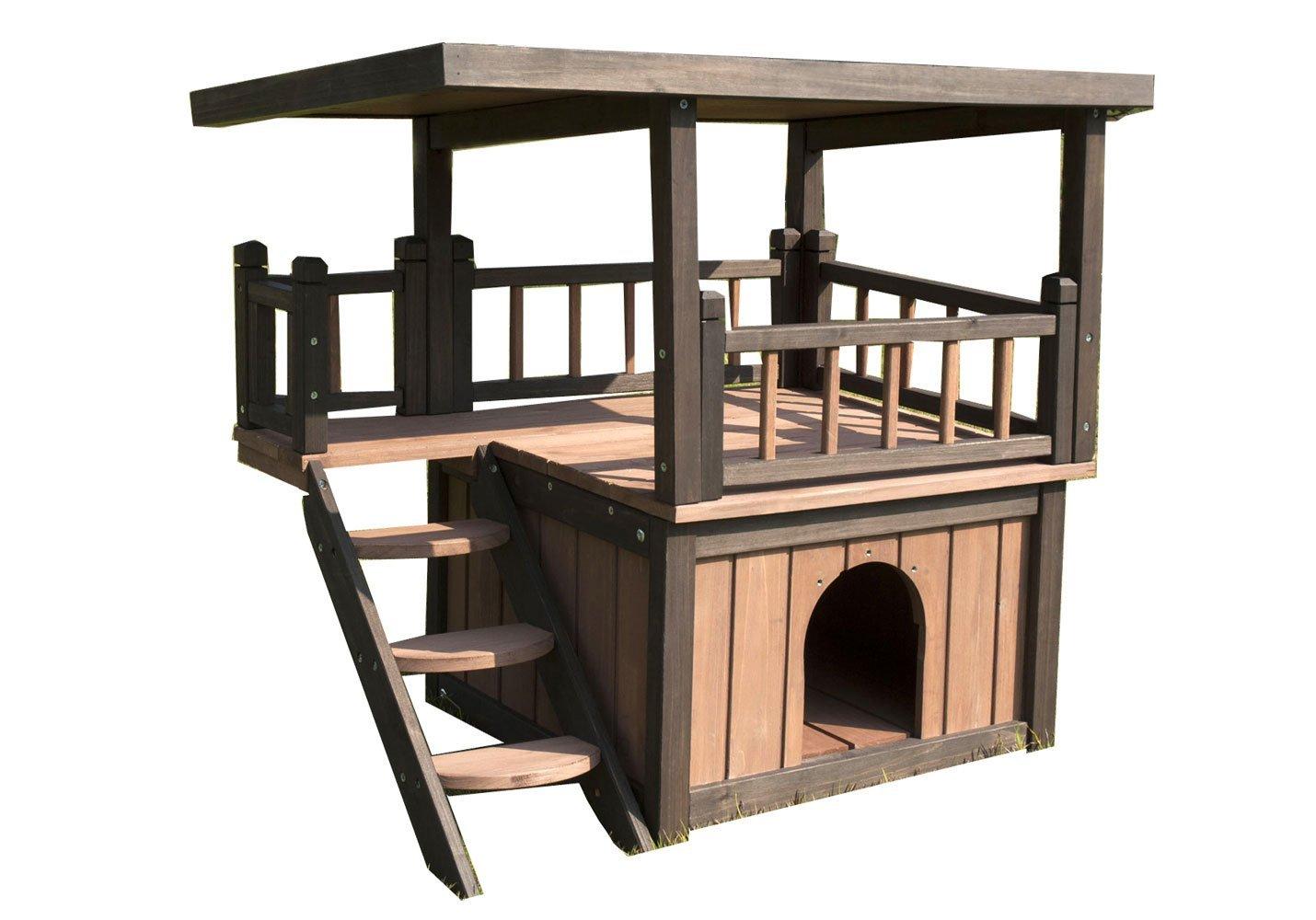 Cuccia per cani in legno tutte le cucce da esterno for Cucce per gatti da esterno coibentate
