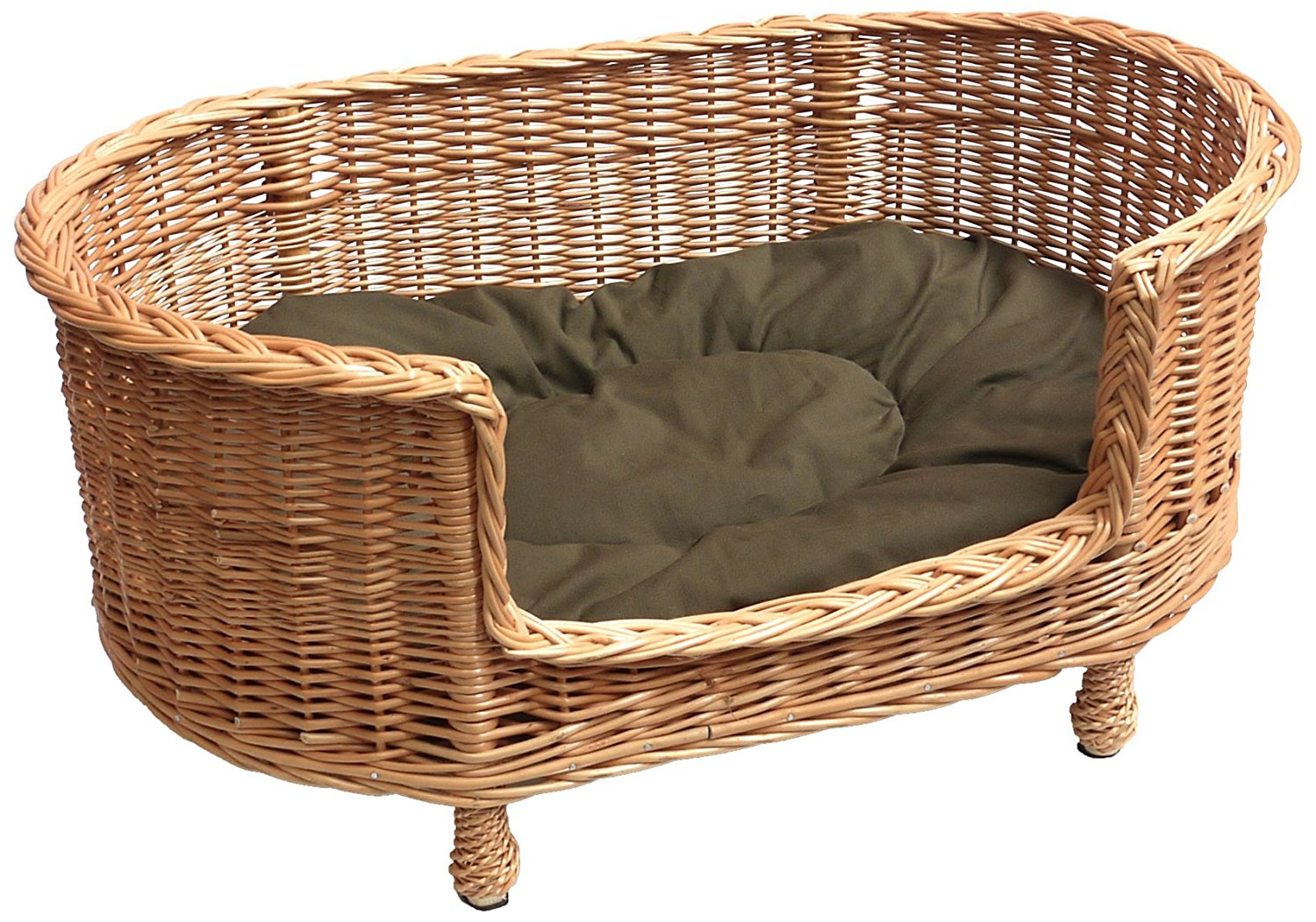 Plastic Rattan Dog Bed