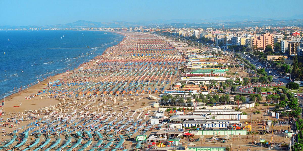 Rimini si trova nella riviera Romagnola ed è la seconda zona più ...